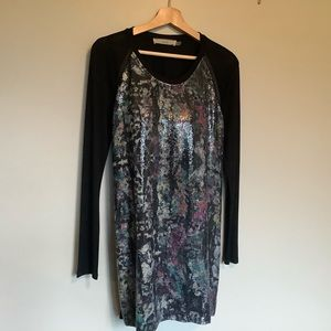 CLUNY sequined dress NWOT